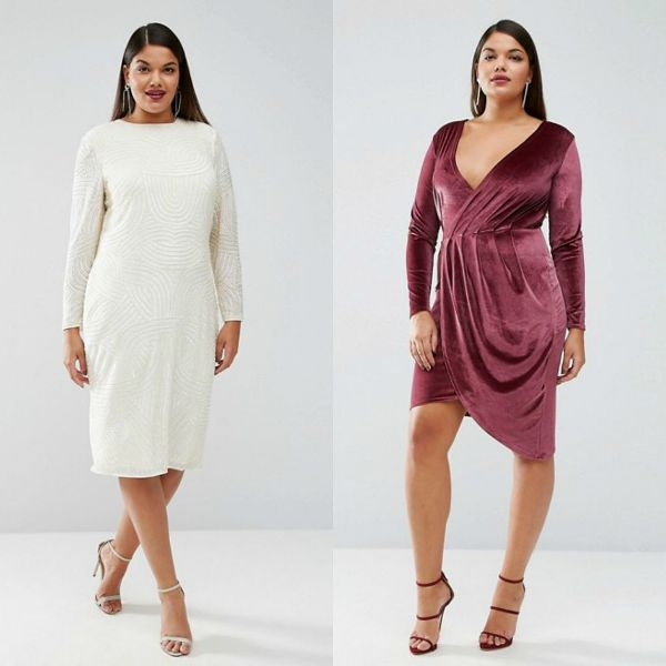Plus size dresses | Long sleeve dresses