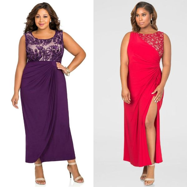 Plus size dresses | Plus size evening dresses