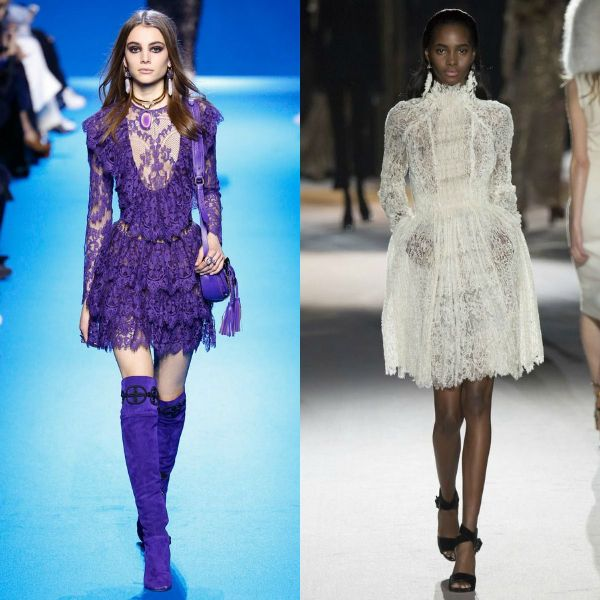 Fall-Winter 2016-2017 trendy dresses | Lace cocktail fall winter trendy dresses