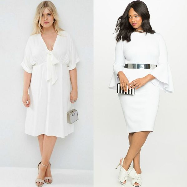 Plus size dresses | White dresses for women