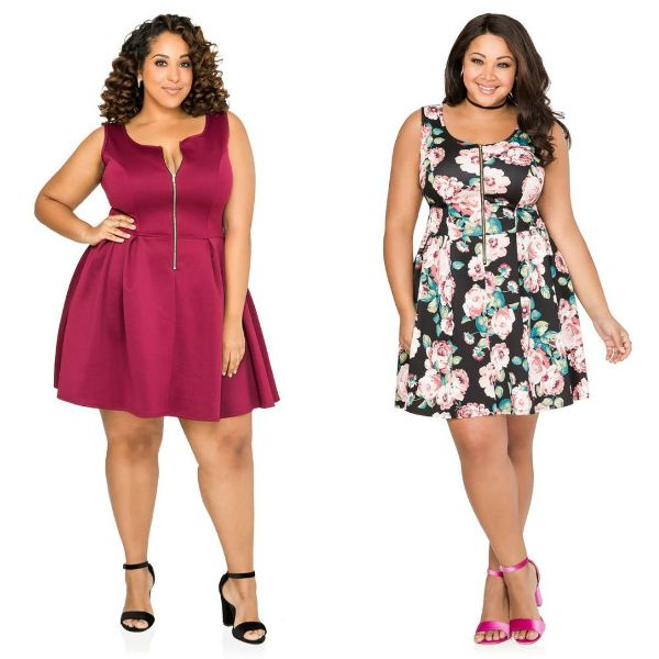 Plus size dresses | Plus size short dresses