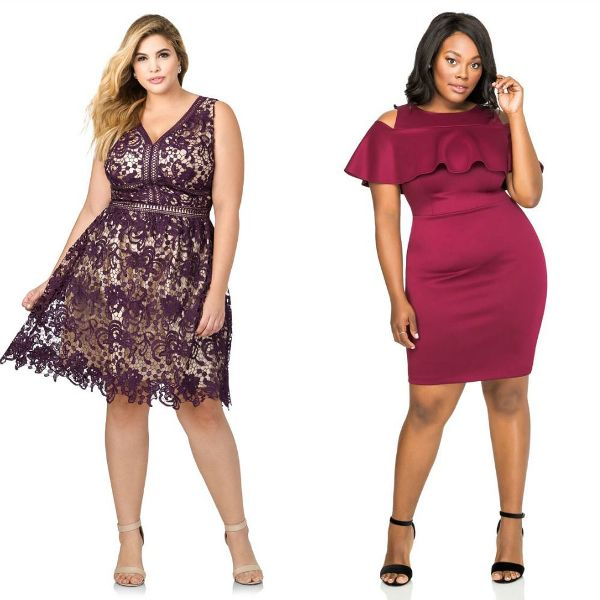 Plus size dresses | Plus size wedding guest dresses