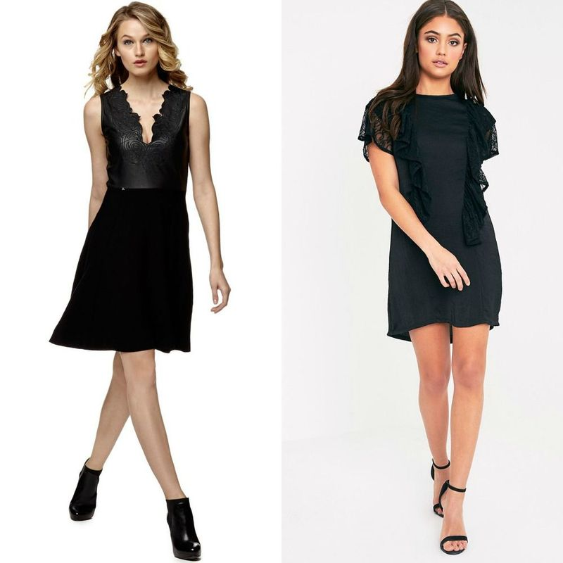 Black cocktail dresses for women