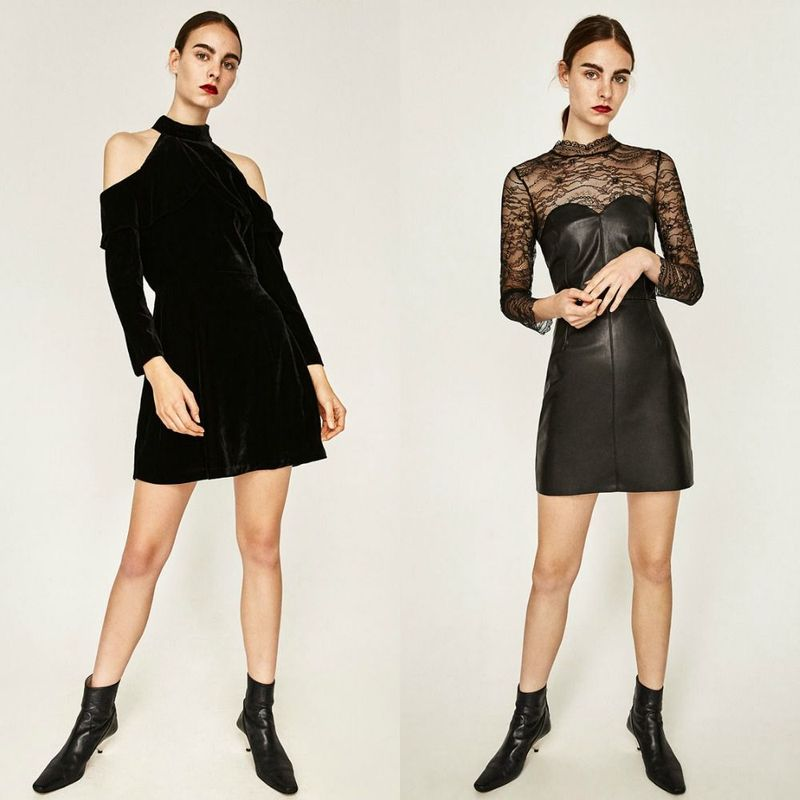 Party dresses | Short black sexy dress
