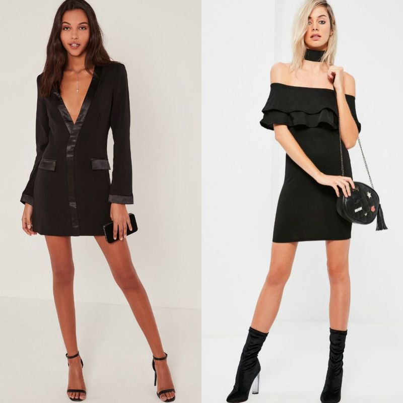 Party dresses | Black sexy dress
