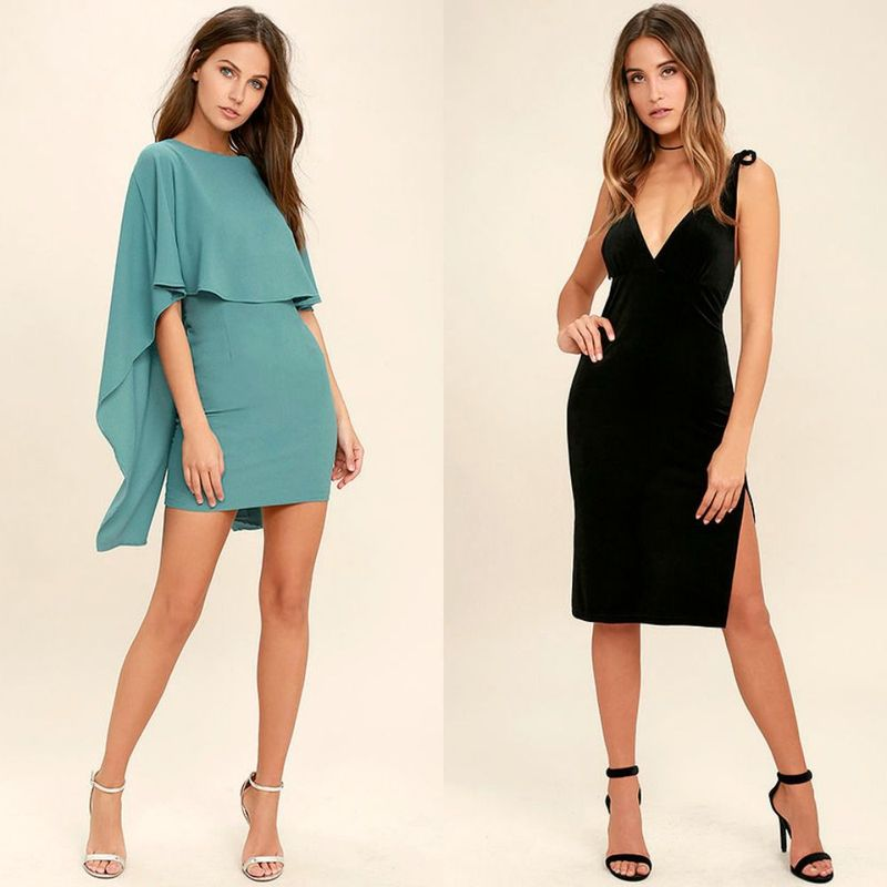 Elegant cocktail dresses for women