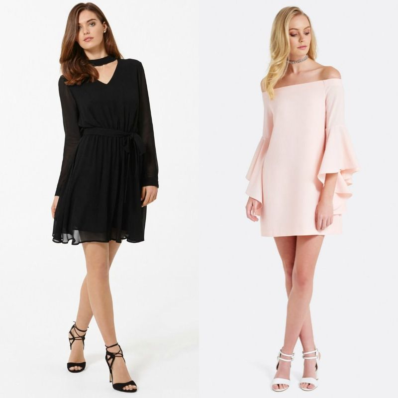 Long sleeve cocktail dresses