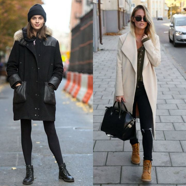 Outfits with boots for winter