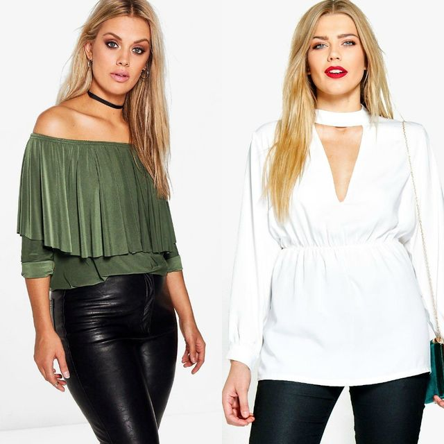 Tops for a plus size club outfit