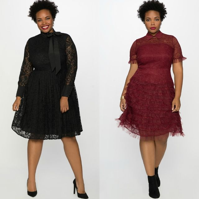 Club outfits with plus size dress for women