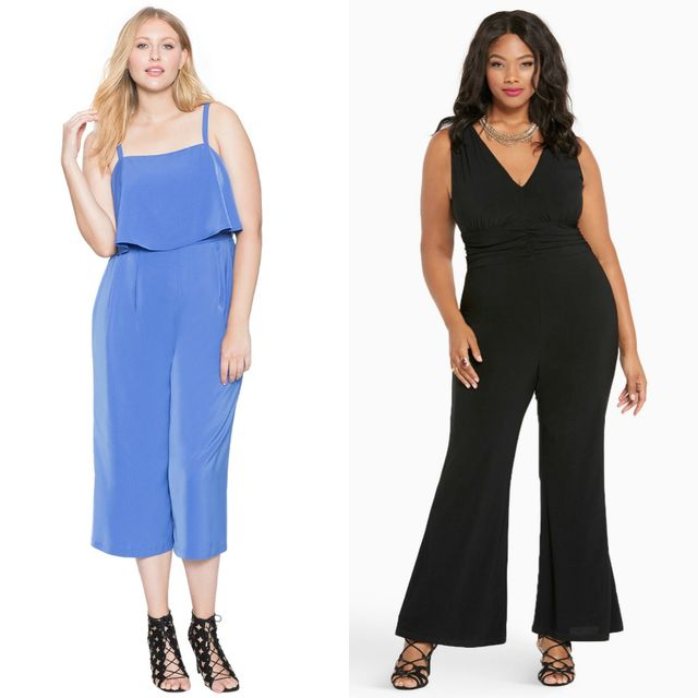 Club outfits with plus size jumpsuits