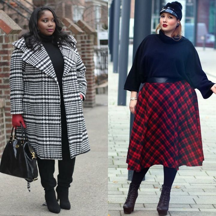 Plus size winter outfits for ladies