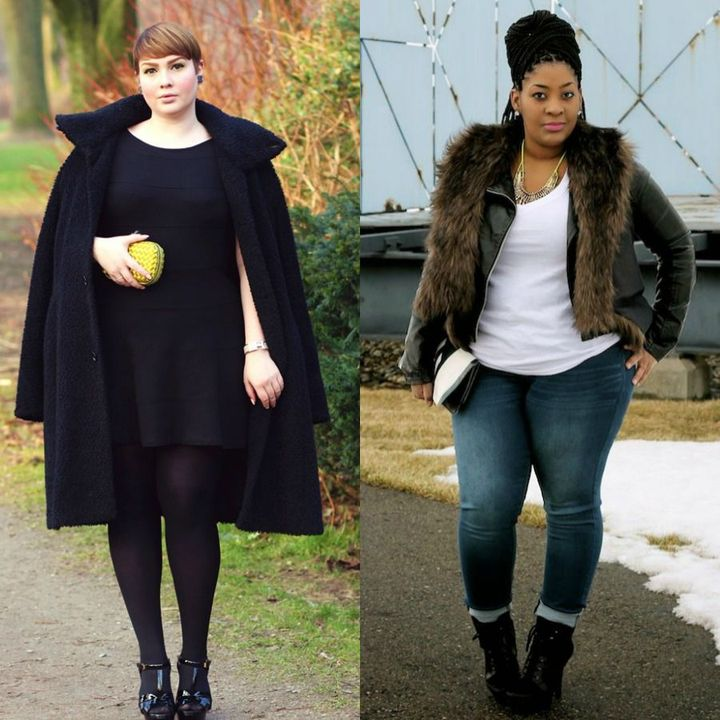 Casual plus size winter outfits for women