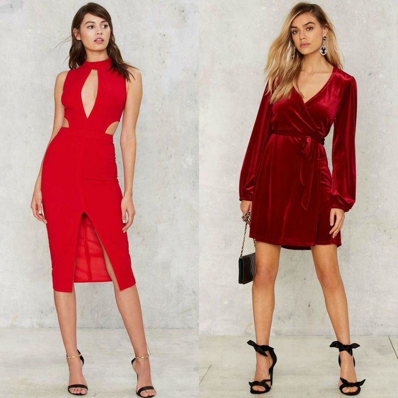 Party dresses | Red party dresses for women
