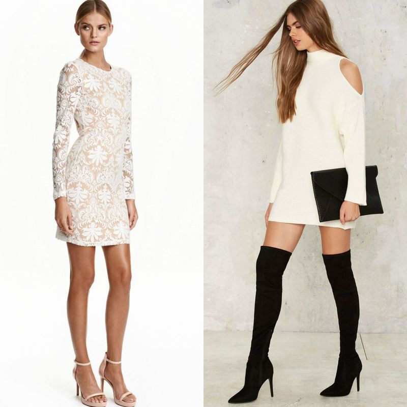Party dresses | White party dresses for women