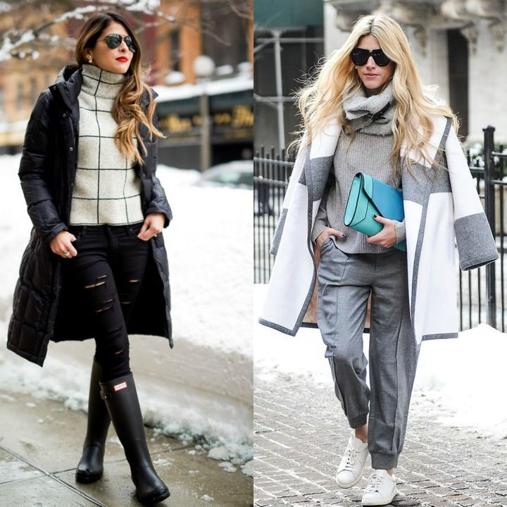 What to wear on a winter date during the day