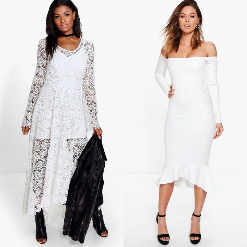 Party dresses | White clubwear dresses