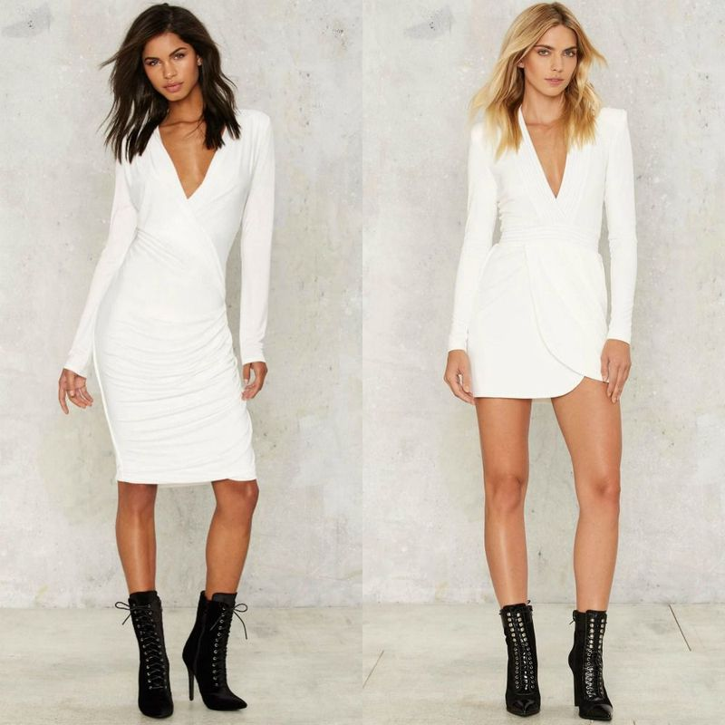 Party dresses | White nightclub dresses