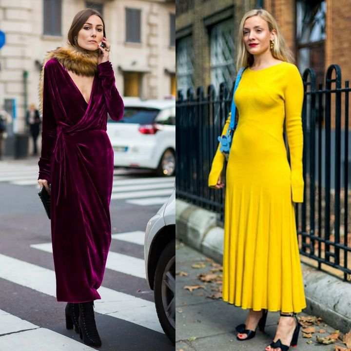 Winter outfits with dresses