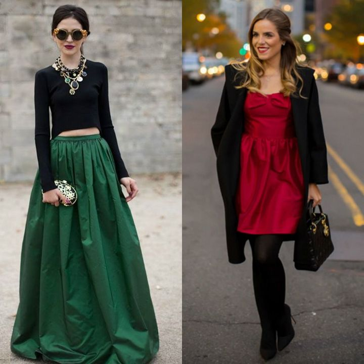 Elegant night out winter outfits