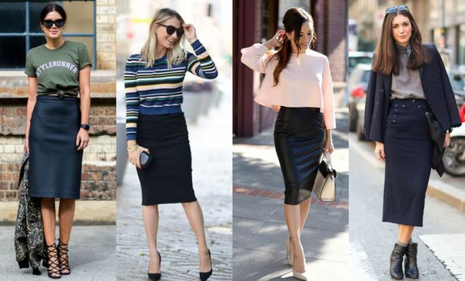 how to make a tight pencil skirt