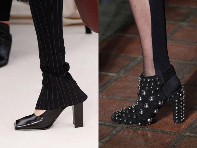 Shoes With Block Heels | Black block heel shoes