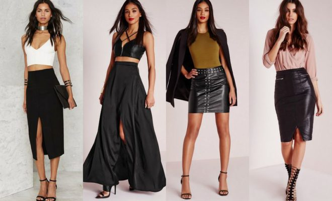 Beautiful Black Skirt To Buy This Year - GlossyU.com