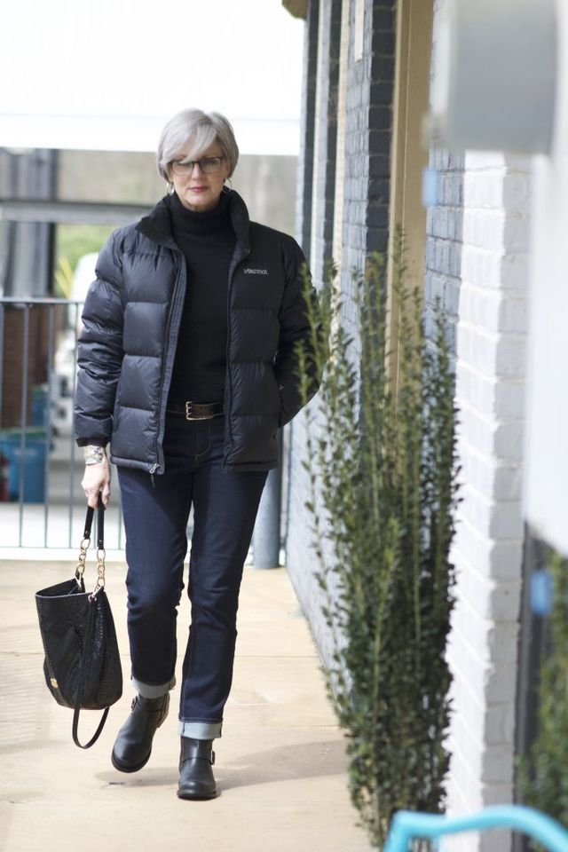 Winter casual outfits for 50 year old woman