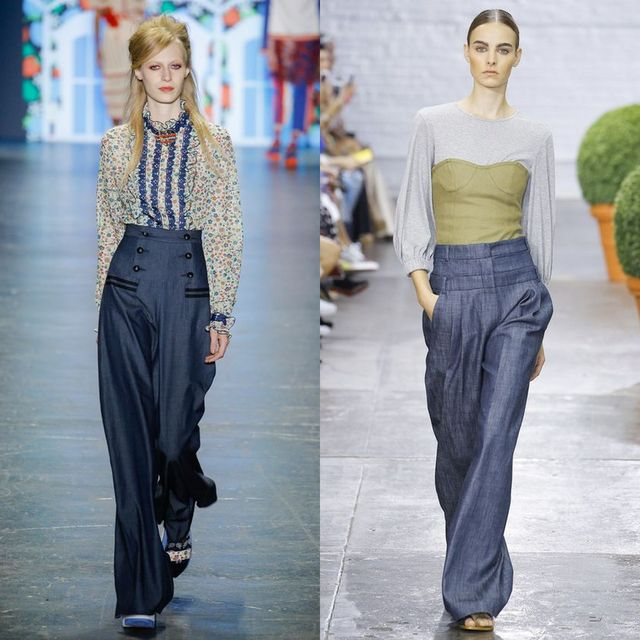Spring-Summer 2018 trendy palazzo pants | Palazzo jeans