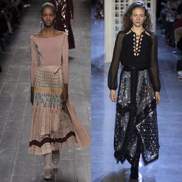 Beautiful 2017 Trends For Long Winter Skirts