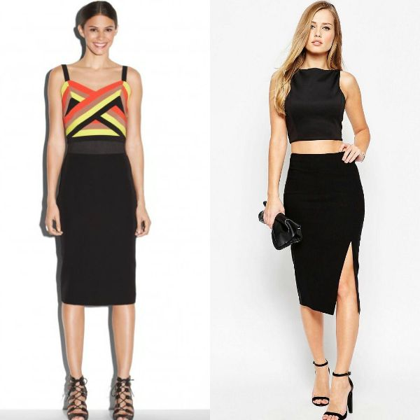 Beautiful black pencil skirts