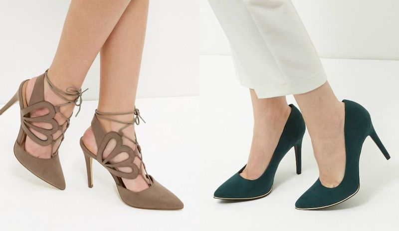 Pointed toe shoes | Pointed toe heels for ladies