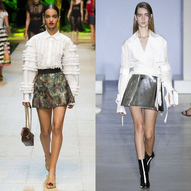 Spring Summer 2017 trends for skirts  | Cocktail skirts are reinvented this season