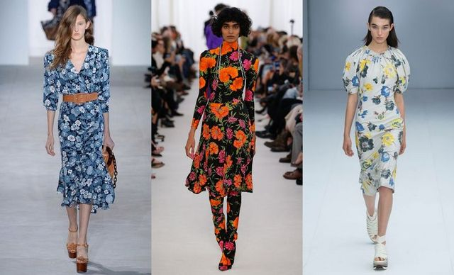 Spring Summer 2017 fashion trends | Flower prints