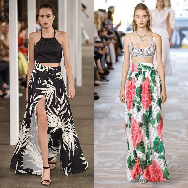 Trends Spring Summer 2017 | Maxi skirts are trendy in 2017
