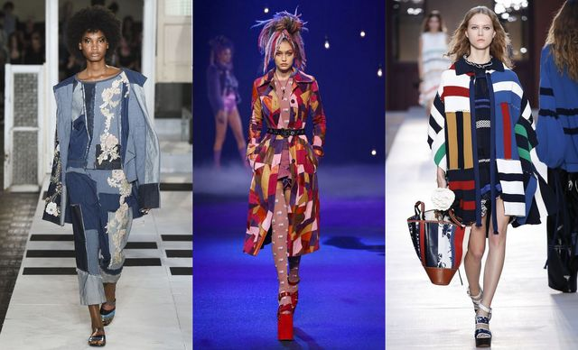 Spring Summer 2017 fashion trends | Patchwork
