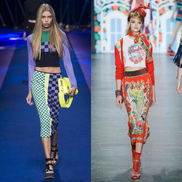 Trends Spring Summer 2017 |  Printed long skirt trends