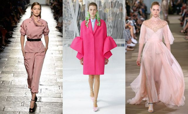 Spring Summer 2017 fashion trends | Wearing pink