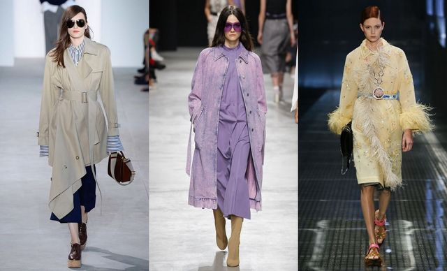 Spring Summer 2017 fashion trends | Trench Coats