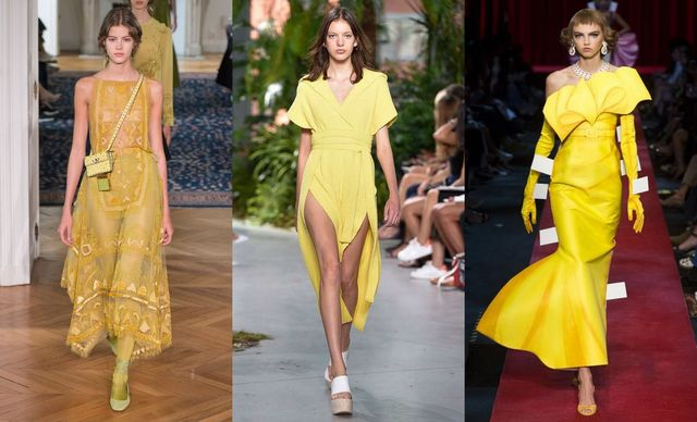 Spring Summer 2017 fashion trends | Wearing Yellow