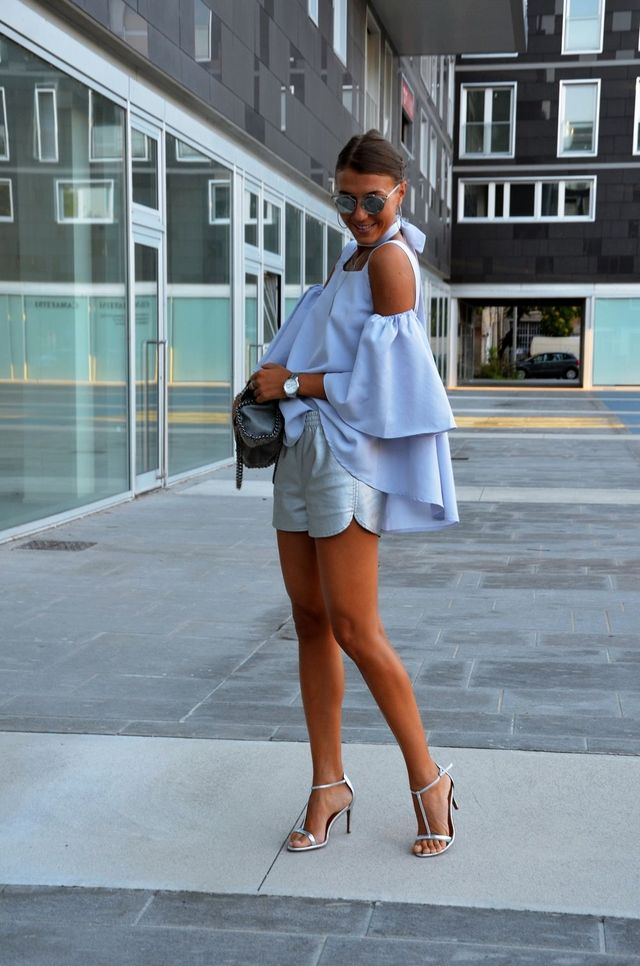Casual summer outfit for women | Casual summer outfits with heels