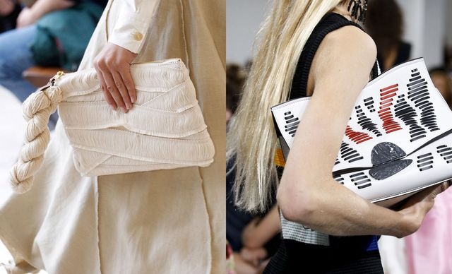 Trendy clutch bags for this year spring summer