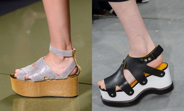 2017 Sandals Trends For Flat wedge sandals