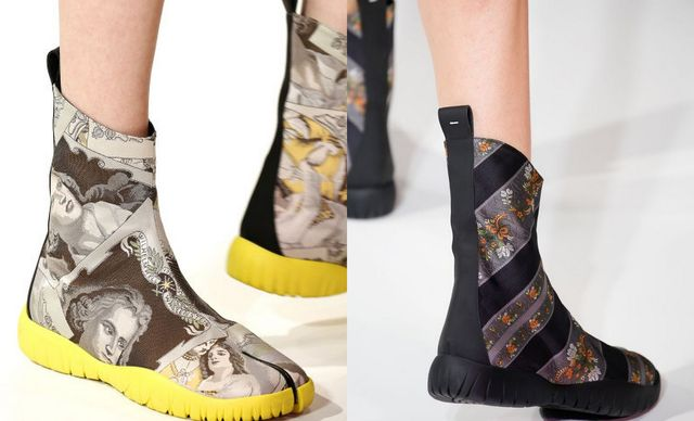 2017 Spring Flat Boots For Women