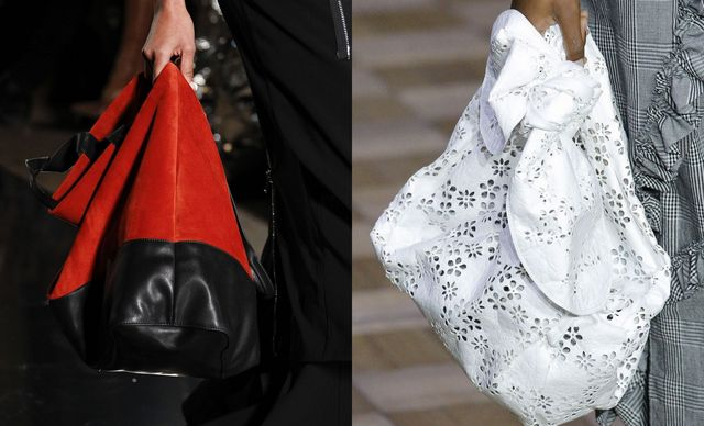 Trendy sack bags for this year spring summer season