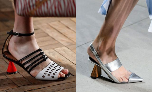 2017 Sandals Trends For Women Sandals with kitten heels