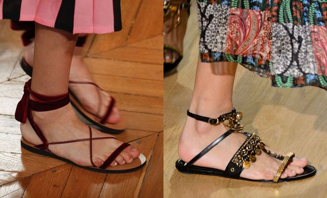 2017 Sandals Trends For Strappy flat sandals