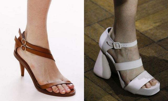 2017 Sandals Trends For Strappy sandals heels