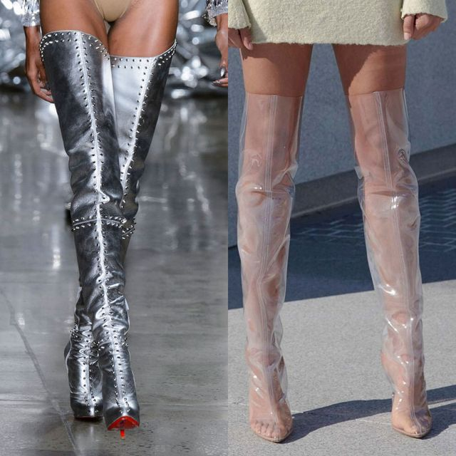 2017 Spring Boots For Ladies | Thigh high boots