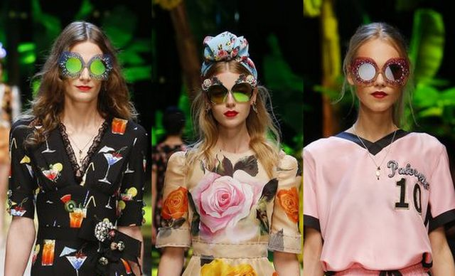 Mirrored sunglasses trends | Dolce&Gabanna